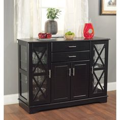 Sideboard Buffet Server Dining Room Credenza Buffet Table Storage Dinette Kitche