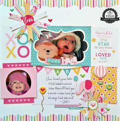 Hello Baby Girl collection by Paper House Productions.