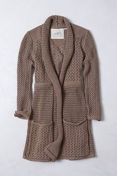 1a7e6fc109d Details about Anthropologie Angel Of The North Open Front Cardigan Sweater  Women s Size S