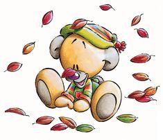 pimboli in de herfst