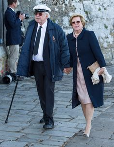 King Constantine of Greece and Queen Anne Marie of Greece attend Bicentenary Celebrations of The Royal Yacht Squadron on June 2015 in Cowes, England. Greek Royalty, Danish Royalty, Greek Royal Family, Danish Royal Family, Casa Real, Iran Pictures, Anne Maria, Olympia, Royal Photography