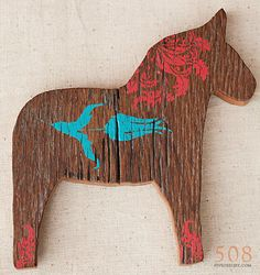 painted dala horse