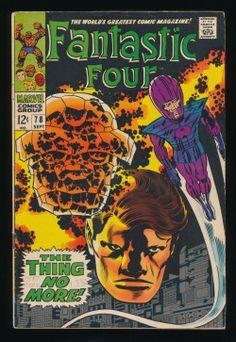 Fantastic Four #78(Sept. 1968)