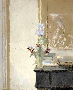 "alongtimealone: "" Edouard Vuillard _ ""Iris et Pensées"" """