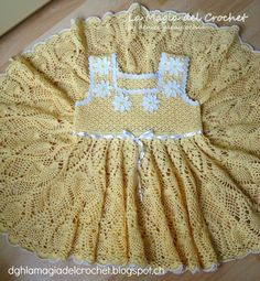 La Magia del Crochet: VESTIDO DE PRIMAVERA