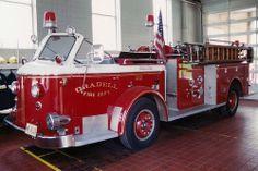 American LaFrance Fire Engine MG B320