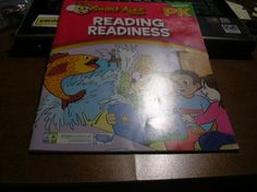 Children Educational Workbook: Smart Alec Series Reading Readiness Grade PK (FREE SHIPPING)