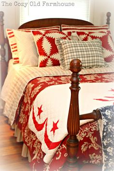 """The Cozy Old """"Farmhouse"""": New Sheets - Check"""