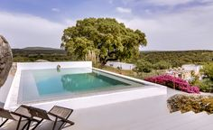 21 Best Countryside Retreats in Portugal Cave Pool, Plunge Pool, Heated Pool, Travel And Leisure, Hotels And Resorts, Countryside, Swimming Pools, Portugal, Restoration