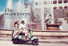 When I am with my Italian boyfriend we ALWAYS ride his Vespa.