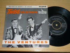"""THE VENTURES - Twist With The Ventures - UK 7"""" EP - LIBERTY LEP 2058 The Ventures, Liberty, Posters, Baseball Cards, Ebay, Art, Art Background, Political Freedom, Freedom"""