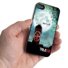 True Blood Bottle Full Moon SWX Design for iPhone 5 Case / iPhone 4 Case / iPhone 4S Case - Samsung Galaxy S3 Case / Samsung Galaxy S4 Case