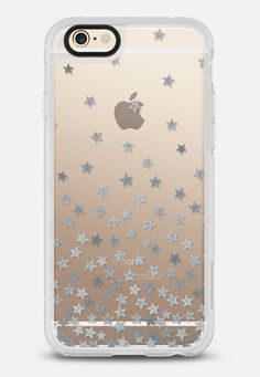 STARS SILVER transparent iPhone 6 case by KIND OF STYLE   Casetify