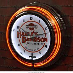 Harley Davidson Skull Neon Light Sign Harley Davidson