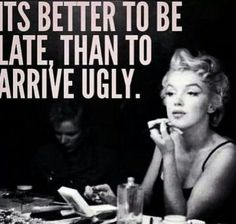 Haha yes.  Very true...  *Marilyn Monroe style*
