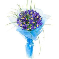 Irises bouquet - http://www.dostavka-tsvetov.com/shop/359/desc/dzhokonda