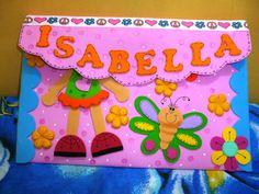 CUCHITURAS MANUALIDADES: CARPETAS Y LIBRETITAS Student Folders, Keto Chocolate Chips, Tag Image, Final Fantasy Xv, Foam Crafts, Ideas Para, Paper Flowers, Barbie, Classroom