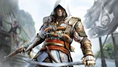 In Assassin's Creed IV Black Flag Wii U iso a pirate filled adventure in the Assassin's Creed saga. Become Edward Kenway, a charismatic yet Assassin's Creed 3, Assassin's Creed Black, Assassins Creed Black Flag, Assassins Creed Game, The Assassin, Xbox 360, Playstation, Saga, Jeux Xbox One