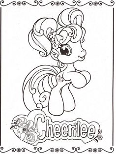 My Little Pony Coloring Pages 6