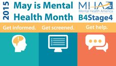 Mental Health Month is right around the corner, so get to planning your awareness events with the help of the Mental Health Month toolkit! The toolkit is available for free here: http://www.mentalhealthamerica.net/may