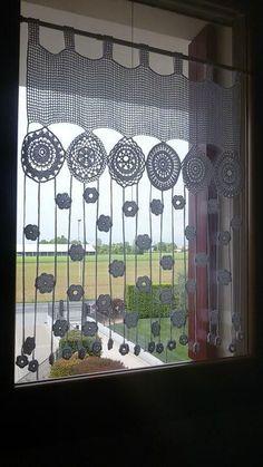 The post . appeared first on Gardinen ideen. The post .gardine appeared first on Gardinen ideen. Filet Crochet, Crochet Motif, Crochet Doilies, Crochet Flowers, Knit Crochet, Crochet Curtain Pattern, Crochet Curtains, Curtain Patterns, Curtain Ideas