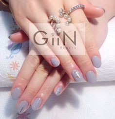 #nail #nails #nailart #nailpolish #naildesign #nailswag #manicure #fashion #beauty #nailstagram #nailsalon #instanails #nails2inspire #love #ネイル #art #gelnail #cute #gelnails #polish #style #gel #naildesigns #instanail #pretty #girl #bloomsbury #nailtech #gray #painting