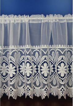 Victoria Macrame Voile Cafe Net Curtains Net Curtains, Cafe Curtains, Cafe Style, Victoria, Snug, Image Search, January, Home Decor, Lace