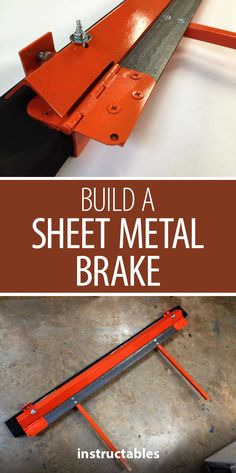 Build a Sheet Metal Brake  #workshop #metalworking
