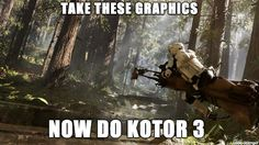 Anyone else thought this while playing Battlefront?