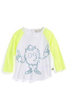 Infant Boy's Stella McCartney Kids 'Max' Organic Cotton Graphic T-Shirt