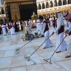 Best job around the world  #kaaba
