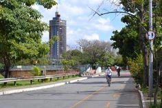 Pista marginal da avenida Andradas, BH/MG