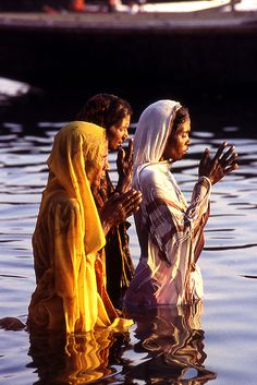 India - Prayers on the river (by Valerio Pandolfo     want to see this and all of India one day