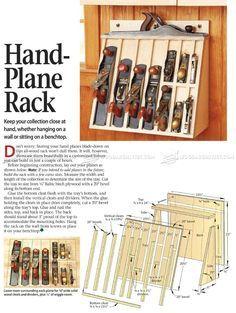 image of Hand Plane Rack