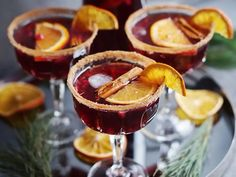 Glöggsangria | Recept från Köket.se Christmas Baking, Yummy Drinks, Scones, Lorem Ipsum, Panna Cotta, Cheesecake, Food And Drink, Breakfast, Ethnic Recipes