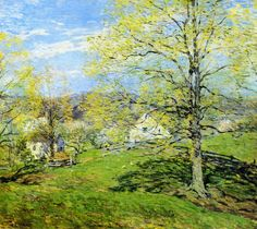 The Breath of Spring  Willard Leroy Metcalf