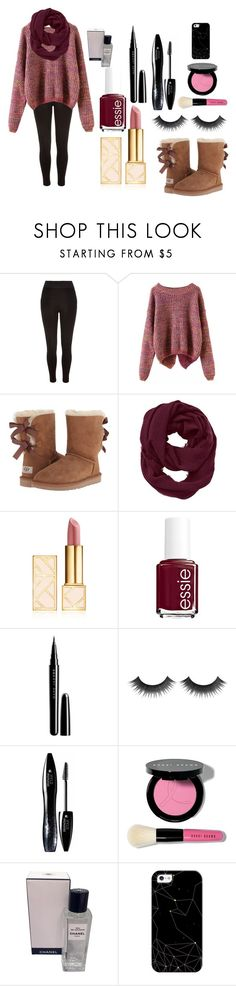 """Sweater Weather!!"" by ejeffrey3 on Polyvore featuring River Island, UGG Australia, Athleta, Tory Burch, Essie, Marc Jacobs, Lancôme, Bobbi Brown Cosmetics, Chanel and Casetify"