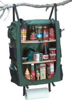 ** hanging camp cupboard...