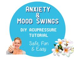 Anxiety & Mood Swings • DIY Acupressure Tutorial • Learn how to calm your anxiety, mood swings and nervousness with a simple technique you can use anytime, anywhere: acupressure.