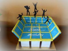 trampoline Cake1