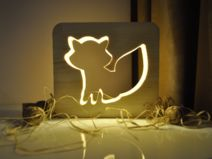 Yorknightlights- Fox Baby Lamp