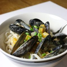 Lime Coconut Curry Mussels   firsttimefoods.com
