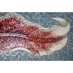 a Master mosaicist did this...look at the andamento [movement]