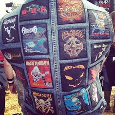 #dl2012 Metal patches