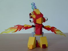 LEGO MIXELS FLAIN TESLO MIX instructions video with Lego 41500 and Lego 41506 Mixels Serie 1