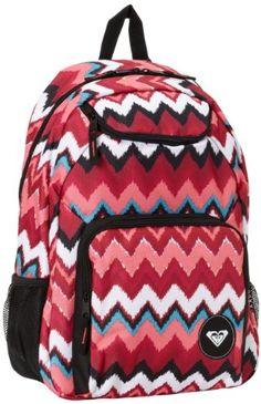 $25 Amazon.com: Roxy Juniors Shadow View Allover Printed Backpack With Sunglass Stash Packet, Geo Print, One Size: Clothing