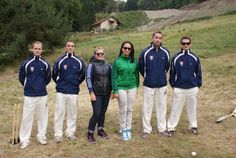 i with slovakia cricet team.