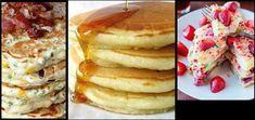 Τα pancakes είναι οι αμερικάνικες τηγανίτες, στο πιο αφράτο τους. Αγαπημένο πρωινό ειδικά στο εξωτερικό και θα εκπλαγείς πόσο εύκολο είναι τα φτιάξεις μόνη σου. Τα υλικά τα έχεις ήδη σπίτιοπότε ετοιμάσου να εκπλήξεις τους αγαπημένους σου.  Υλικά που θα χρειαστείς για τα pancakes! 2 κουπες αλεύρι 3 κουταλιές σούπας ζάχαρη 1/2 κουταλάκι γλυκού αλάτι 1 μπέικιν 1 1/2 κούπα γάλα 2 αυγά 3 κουταλιές σούπας βούτυρο λιωμένο Μια […] Greek Recipes, Donuts, Pancakes, Food And Drink, Health Fitness, Cooking Recipes, Yummy Food, Sweets, Cookies