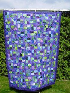 Op dit prikbord verzamel ik alle quilts die ik zelf gemaakt heb.