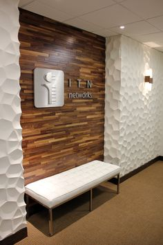 our firm had the chance to design an office for itn networks this